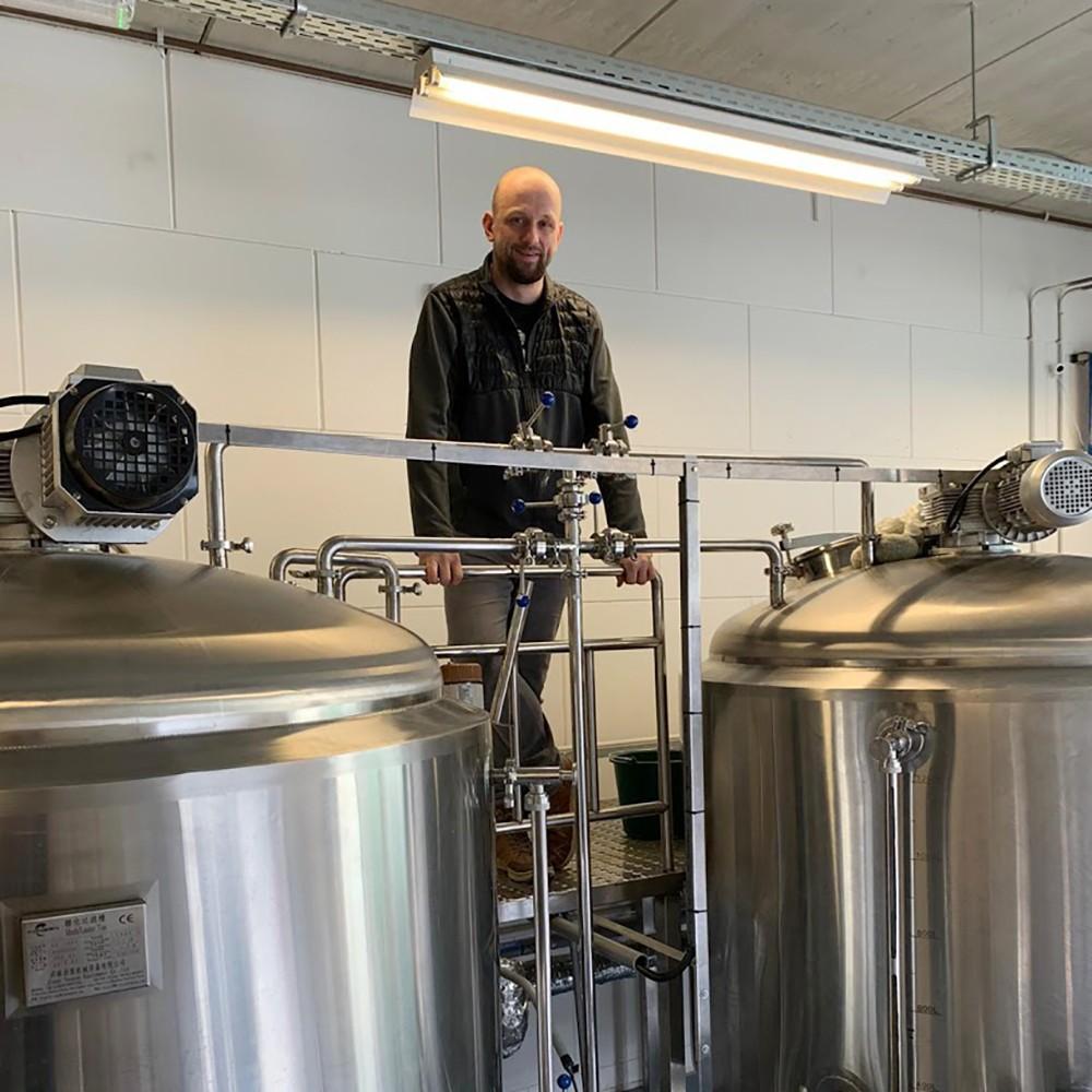 Martijn de Zeeuw, brouwerij De 12 Stuyvers