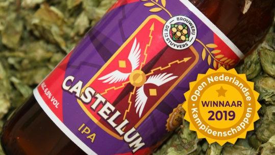 Castellum, Indian pale Ale, winnaar ONK 2019