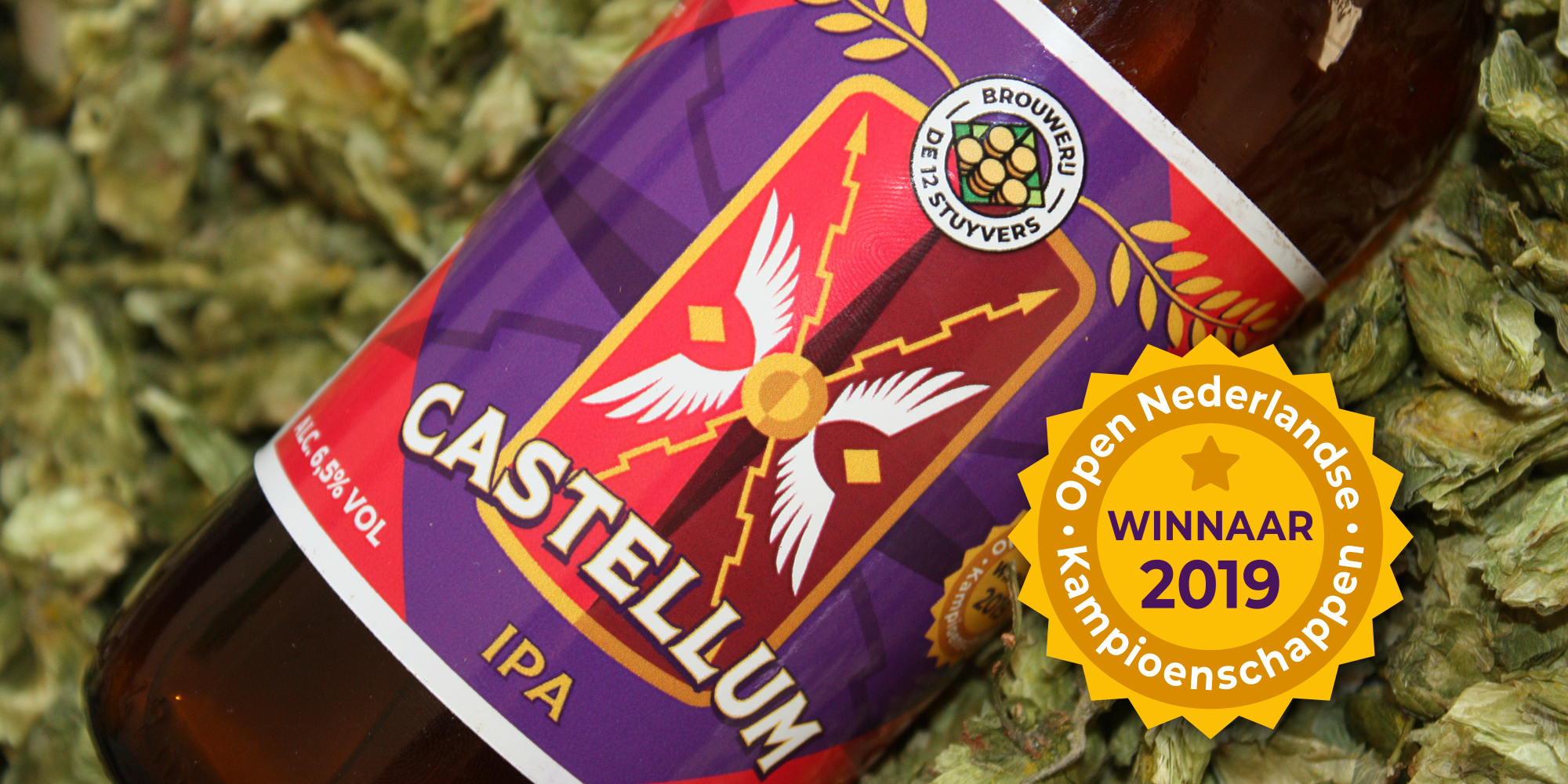 Castellum, Indian pale Ale, winnaar ONK 2019